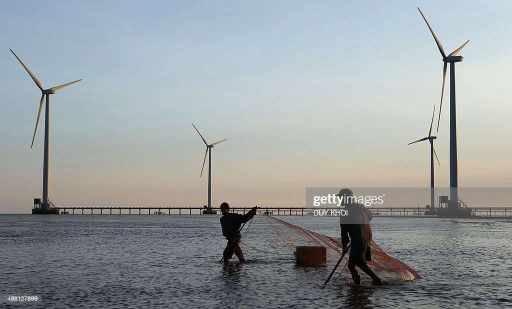 VIETNAM-ENERGY-WIND-POWER : News Photo