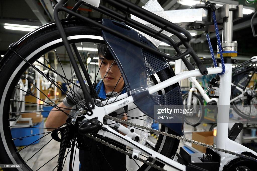 TAIWAN-LIFESTYLE-ECONOMY-CYCLING : News Photo