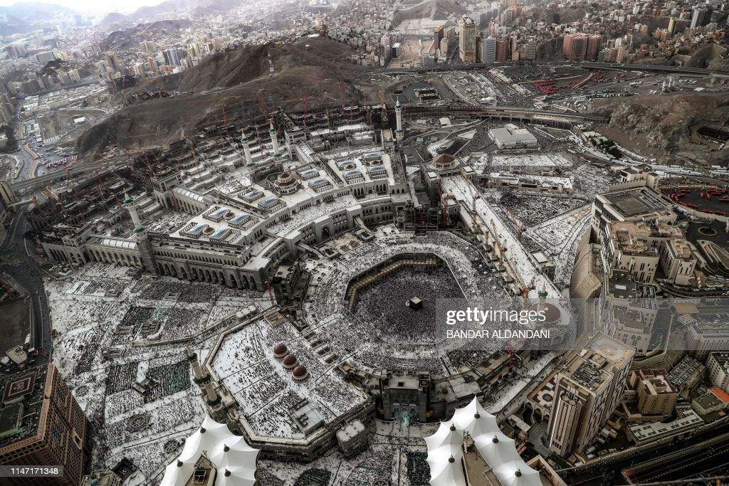 SAUDI-RELIGION-ISLAM-RAMADAN-MECCA : News Photo