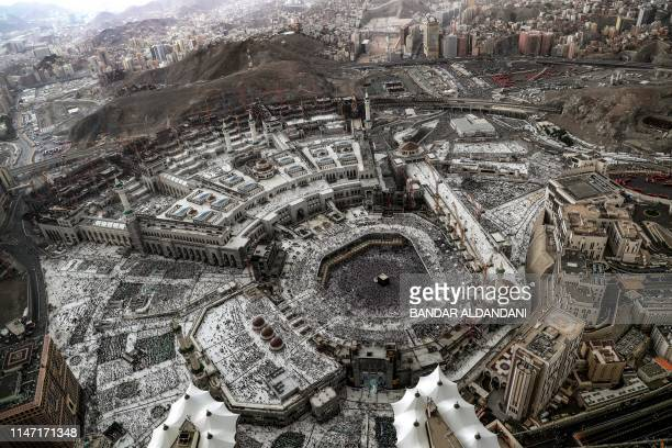 327 Mecca Clock Tower Photos And Premium High Res Pictures Getty Images