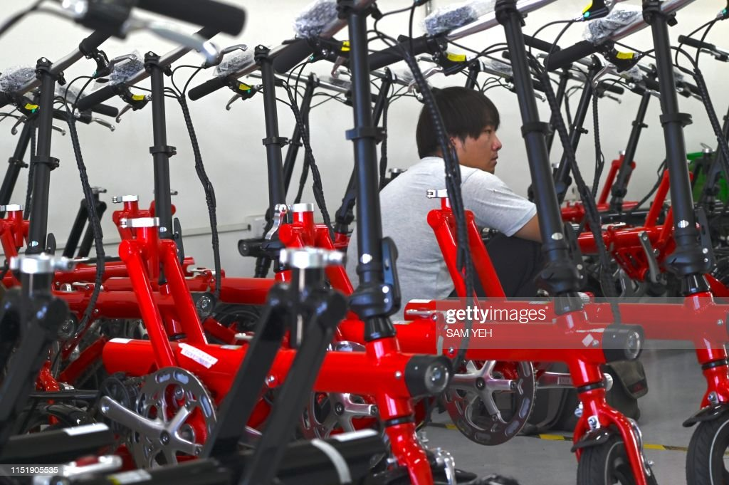 TAIWAN-LIFESTYLE-ECONOMY-CYCLING : News Photo