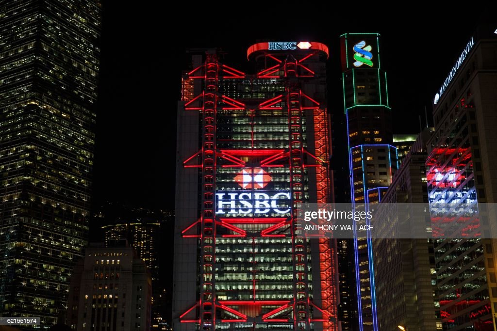 HONG KONG-BRITAIN-HSBC-COMPANY-BANKING-EARNINGS : News Photo