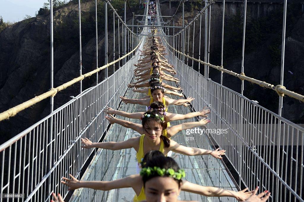 CHINA-TOURSIM-BRIDGE : News Photo