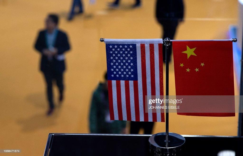 CHINA-US-TRADE-DISPUTE : News Photo