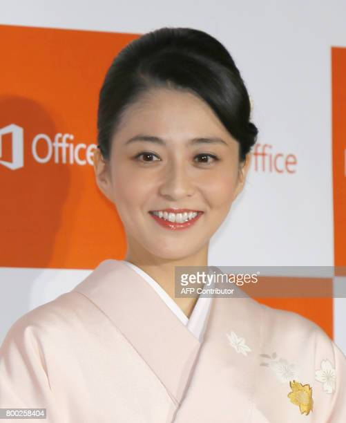 This picture taken on October 16 2014 shows former newsreader Mao Kobayashi in Tokyo The death of a former newsreader who won acclaim for blogging...