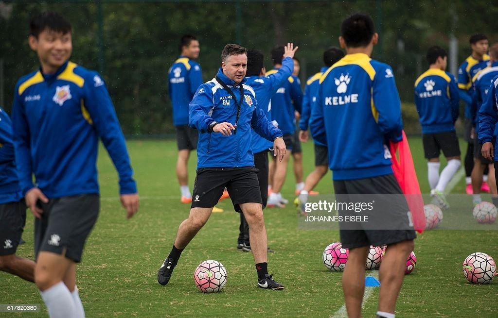 FBL-ASIA-CHN-SHANGHAI-WHITE : News Photo
