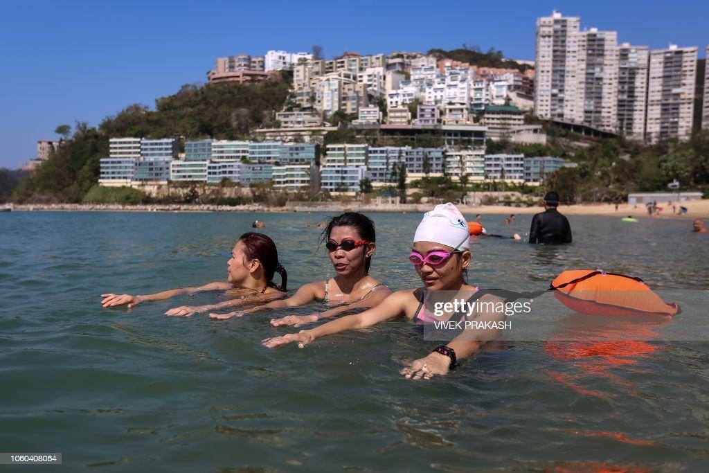 DOUNIAMAG-HONGKONG-LIFESTYLE-SWIMMING : News Photo
