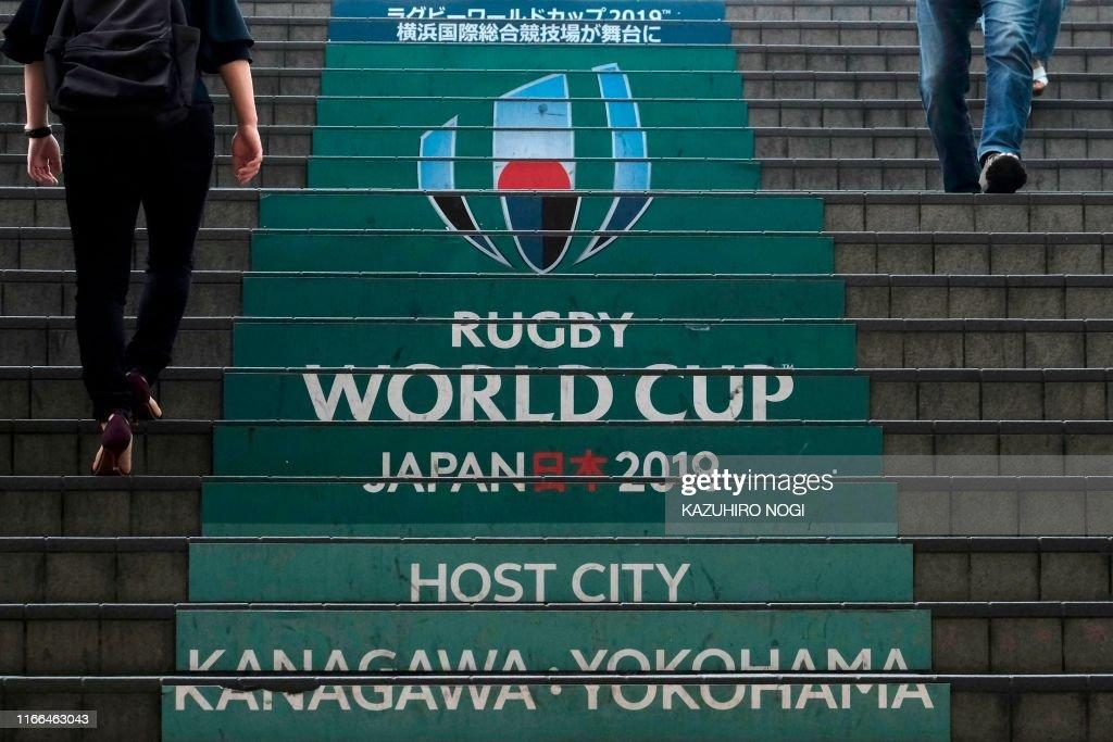 RUGBYU-WC-2019-YOKOHAMA : News Photo