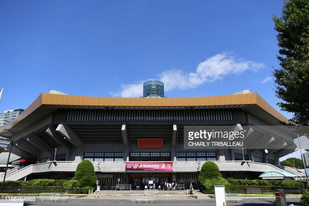 This picture taken on September 7, 2019 shows a general view of the Nippon Budokan, a venue for the upcoming Tokyo 2020 Olympic Games.