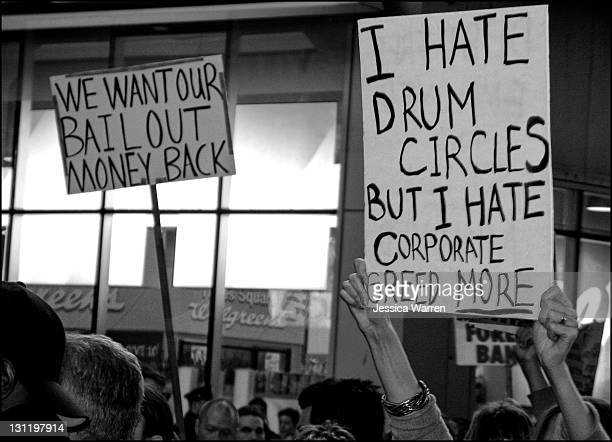 This picture was taken at, you guessed it, a spontaneous drum circle at Times Square.