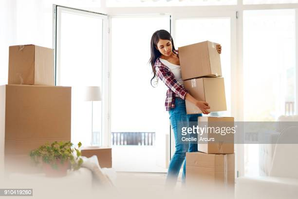 this pile is going with the movers - carrying stock pictures, royalty-free photos & images