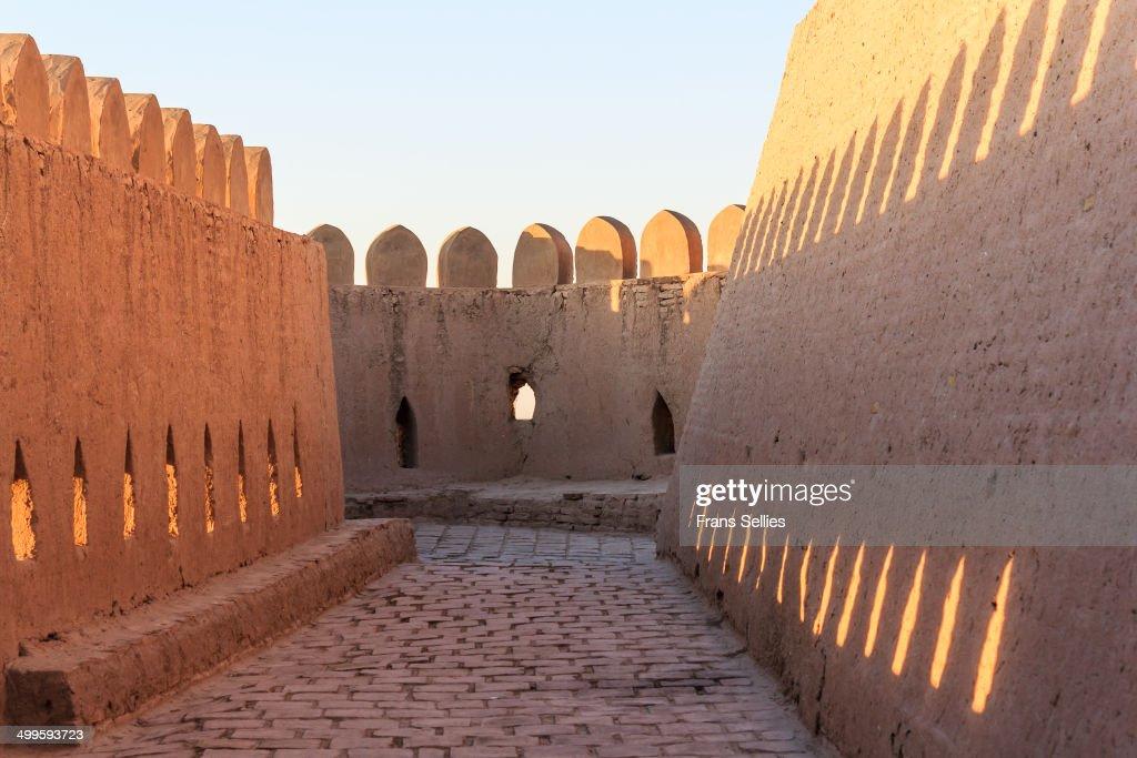 Ramparts of Kunya Ark (Citadel), Khiva : Nieuwsfoto's