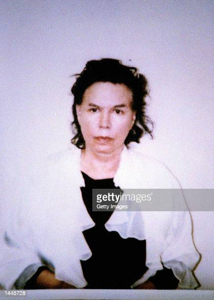 This police photo released July 10 1998 shows Sante Kimes part of a mother and son grifter team convicted of kidnapping and murdering wealthy widow...