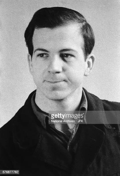 This portrait of Lee Harvey Oswald taken in Minsk was confiscated by the FBI during the Kennedy assassination investigation