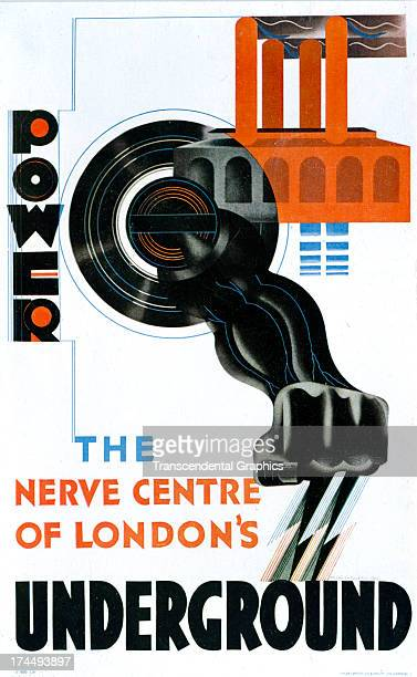 This poster is produced around 1920 in London England