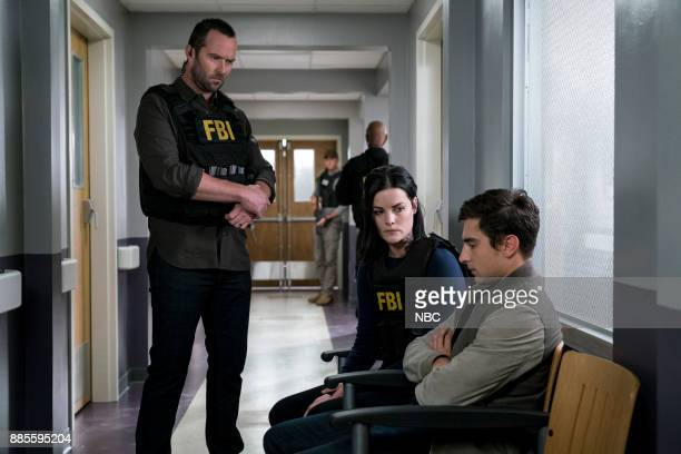 BLINDSPOT 'This Profound Legacy' Episode 305 Pictured Sullivan Stapleton as Kurt Weller Jaimie Alexander as Jane Doe Alex Ozerov as Vanya