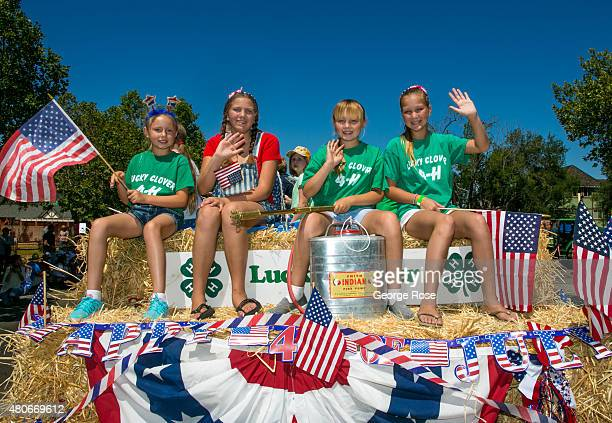 This quirky Danish community with its windmills and old world architecture celebrates an allAmerican 4th of July with a parade on July 4 2015 in...