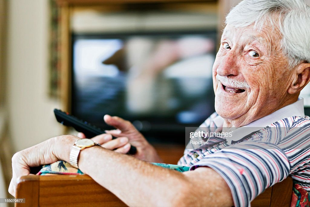 Surprised Grandma High-Res Stock Photo - Getty Images