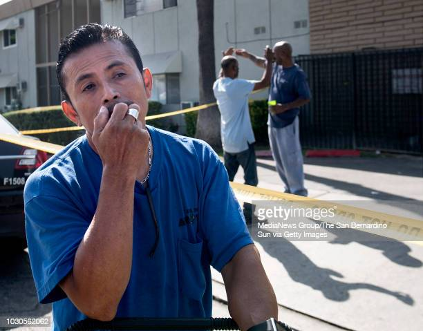This resident who preferred not to give name agrees that it's alway been violent at this San Bernardino Calif apartment complex at 1227 E Lynwood Dr...