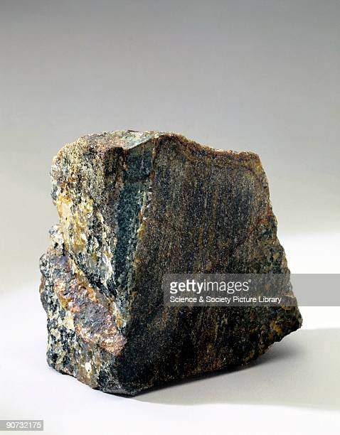 This rock was collected from Akilia island Greenland by Dr Clark Friend of Oxford Brookes University during the 1990s and has been isotropically...