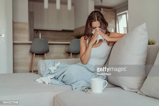 this runny nose is starting to ruin my day - cough stock pictures, royalty-free photos & images