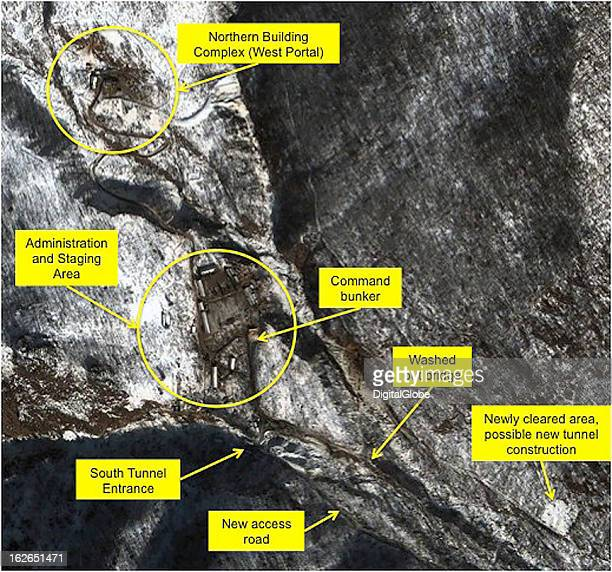 This satellite image of the PunggyeRi facility collected on January 28 2013