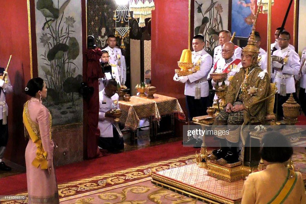 THAILAND-ROYALS-CORONATION : News Photo