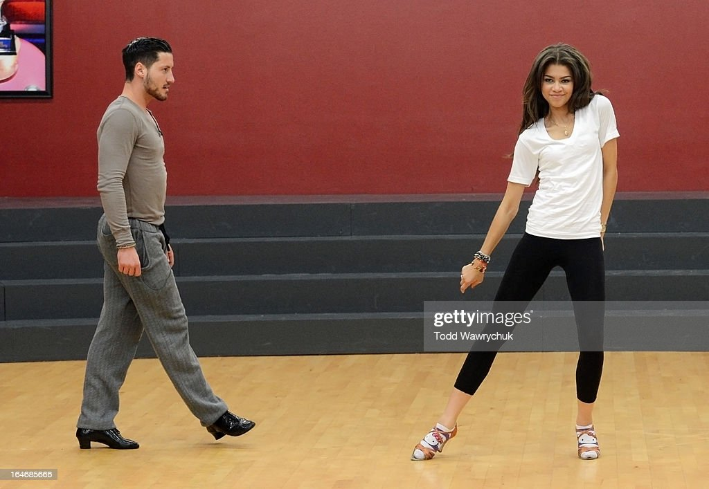 STARS - REHEARSALS - This season's dynamic lineup of stars performed for the first time on live national television with their professional partners during the two-hour season premiere of 'Dancing with the Stars,' MONDAY, MARCH 18 (8:00-10:01 p.m., ET) on the ABC Television Network. VAL