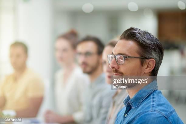 dieses seminar ist so informativ - seminar stock-fotos und bilder