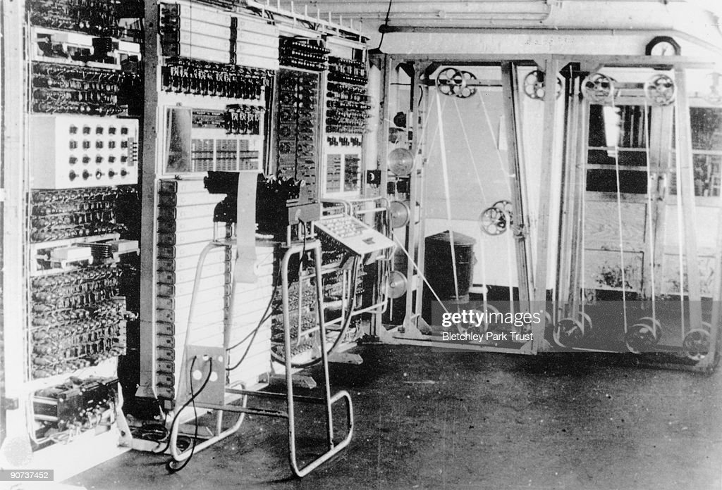 The Colossus computer at Bletchley Park, c 1943. : News Photo