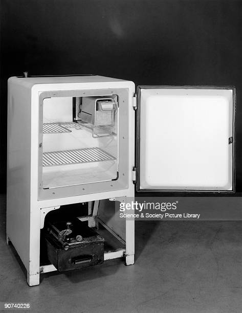 This small ammonia absorption refrigerator was designed to operate on paraffin It was commonly used in postwar prefabs and bungalows Made by...