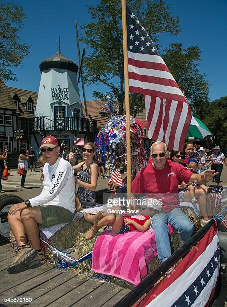This small Danish community on California's Central Coast with its windmills and old world architecture celebrates an allAmerican 4th of July with a...