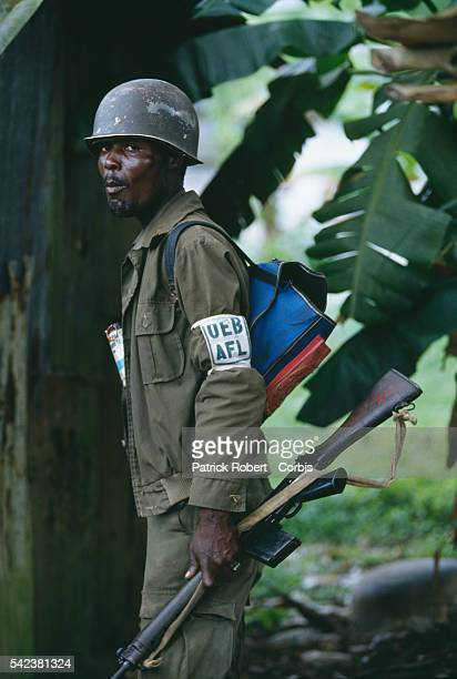 This soldier fights for the Armed Forces of Liberia the national army under the Samuel Doe regime By 1992 the AFL maintained only limited authority...