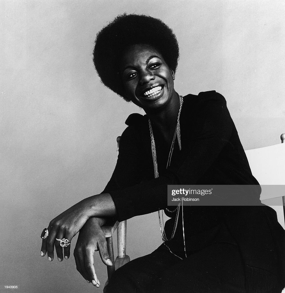 This studio portrait shows American pianist and jazz singer Nina Simone on October 30, 1969 in an unspecified location. Simone, whose deep, raspy voice made her a unique jazz figure and later helped chronicle the civil rights movement, died in her sleep on April 21, 2003 of natural causes after a long illness. She was 70.