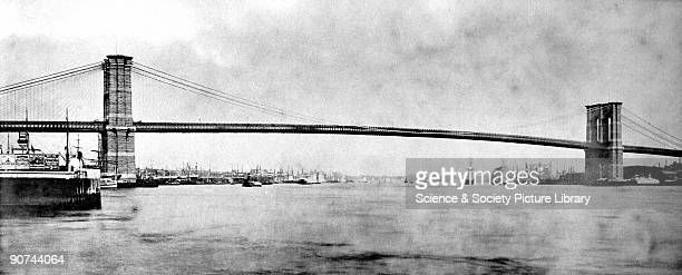 This suspension bridge connecting Brooklyn and Manhattan across the East River was opened on 24th May 1883 and was heralded as one of the most...