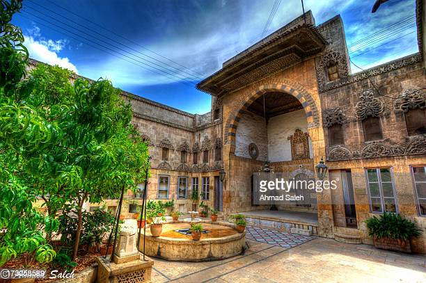 CONTENT] This traditional house is located in AlJdaydeh Aleppo It was built in the Ottoman period in the eighteens century Now it has been converted...