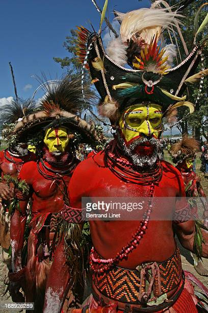 This tribe is always the most popular tribe during the important tribal gathering in Mount hagen. The Huli are an indigenous people who live in the...
