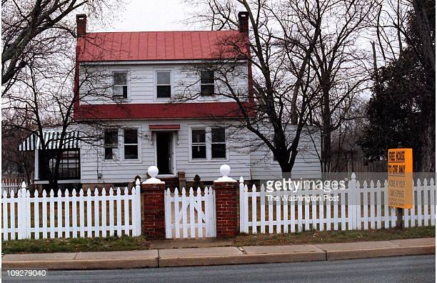 03/20/98 This two bedroom Sears Roebucks style kit house from the 1920's in Leonardtown Md is free for the asking with just one catch the new owners...