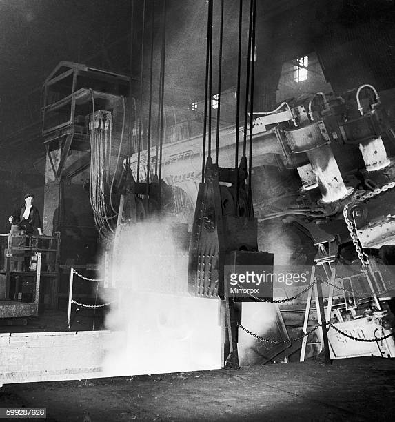 This type of furnace produces high quality carbon and alloy steels used extensively in the aircraft and motor industries 1946