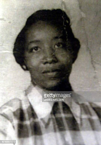 This undated family photo obtained 26 October 2002 in Scotlandville, Louisiana, shows Myrtis Williams, mother of accused sniper John Allen Muhammad....