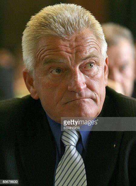 This undated file photo shows Borut Miklavzic of Slovenian Democrats in Ljubljana Miklavzic was presented on as a new Minister of Health on the list...
