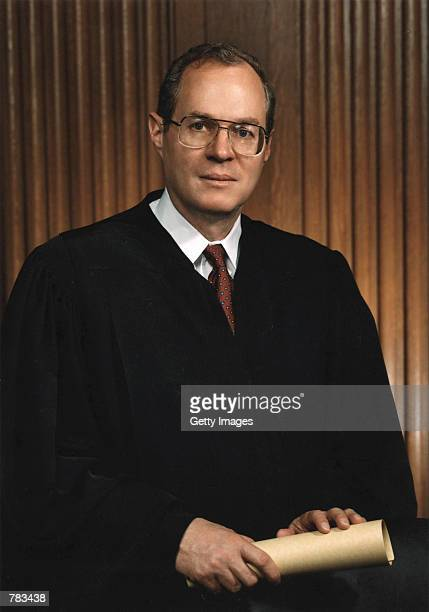 This undated file photo shows Justice Anthony M Kennedy of the Supreme Court of the United States in Washington DC
