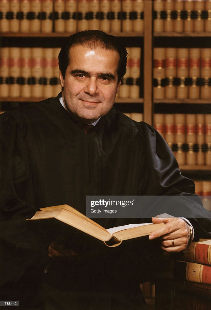 This undated file photo shows Justice Antonin Scalia of the Supreme Court of the United States in Washington, DC.