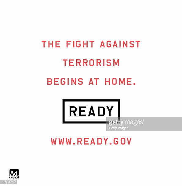 This undated handout image from the Martin Advertising Agency shows a public service announcement for the Department Homeland Security which will...