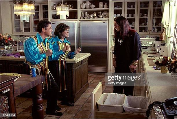 This undated handout image showing singers Donny and Marie Osmond with rock star Ozzy Osboune is from one of several new commercials by the Pepsi...