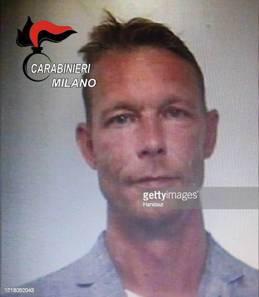 This undated handout image supplied by the Carabinieri Milano shows a police mug shot of Christian Brueckner, a suspect in the disappearance of...