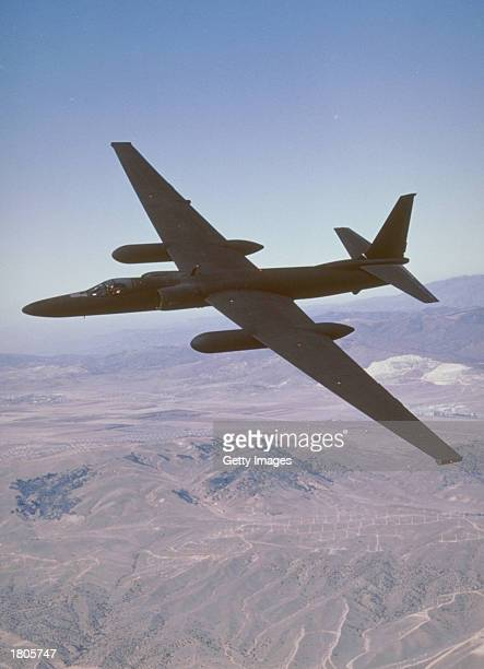 This undated photo from the Lockheed Martin corporation shows the U2 reconnaissance aircraft The U2's unusually long wingspan allows the aircraft to...
