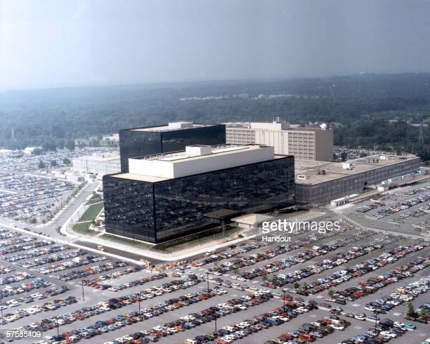 This undated photo provided by the National Security Agency shows its headquarters in Fort Meade Maryland The NSA has been secretly collecting the...