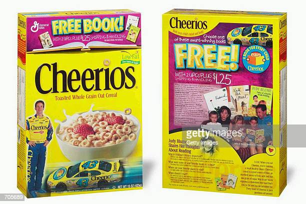 This undated photo shows a special edition Cheerios box available in select Southeast markets featuring race car driver John Andretti reading aloud...