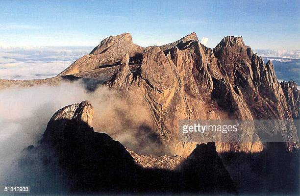 This undated photo shows Mount Kinabalu South East Asia's highest peak in East Malaysia's state of Sabah A Malaysian rescue team has found signs that...